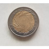 2 евро 2004 Италия  Продовольственная программа