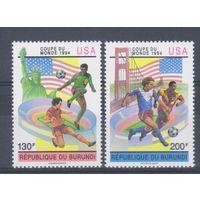 [1164] Бурунди 1993.Спорт.Футбол.