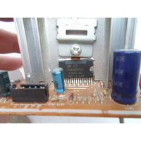 Микросхема TDA7297SA с радиатором и кучей деталек *2014* оригинал