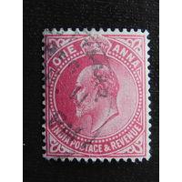 Британская Индия 1902 г. Эдуард -VII.