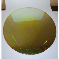 """Настоящая Кремневая 8"""" пластина с более мелкими микросхемами (2)"""
