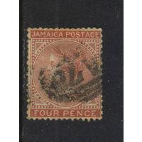 GB Колонии Ямайка 1883 V Стандарт # 18