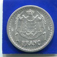 Монако 1 франк 1943 , VF