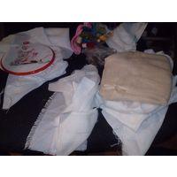 Материал для вышивки - рукодельницам.