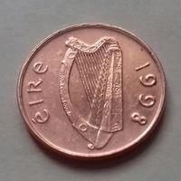 1 пенни, Ирландия 1998, 1976 г.