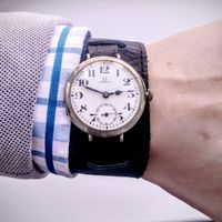 "Мануфактурные часы Omega, калибр ""Robust"" 1915 год. Отличная цена!"