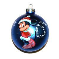 Новогодние стеклянные шары с ручной росписью