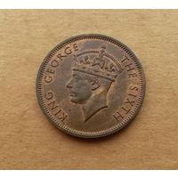 Британские Сейшелы, Георг VI (1936-1952), 5 центов 1948 г., состояние