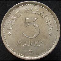Эстония 5 марок 1922 (2-183)