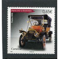 Андорра французская. Автомобиль Cartercar (1910 года)