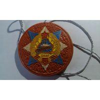 Сувенирная медаль в честь 70 летия 83 отдельного инженерно-аэродромного полка(глина)