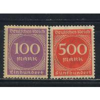 Германия Респ 1923 Инфляция #268,272**
