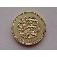 Великобритания 1 фунт 2002