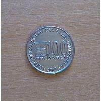 100 боливаров 2002 Венесуэла