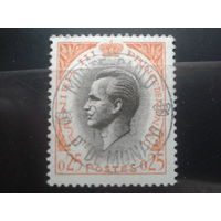 Монако 1960 князь Ренье 3 0,25фр