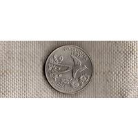 США квотер 25 центов 2008/Оклахома(Nv)