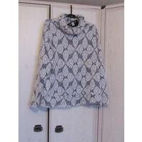 В подарок к купленной одежде К 8 марта  Свитер лохматенький , мягкий , симпатичный Р-р 54