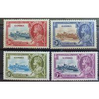 Гамбия.\874\ 1935 год. Mi #116-119.