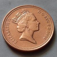 1 пенни, Великобритания 1994 г., AU