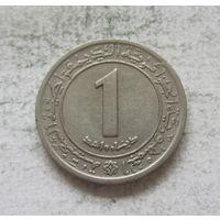 Алжир 1 динар 1972 ФАО - Земельная реформа (разновид - вязь на аверсе не касается обода)