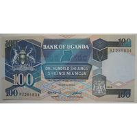 Уганда 100 шиллингов 1988 г. (g)