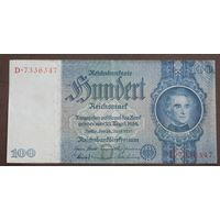 Германия, 100 марок 1935 год