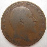Великобритания 1 пенни 1906 г. (g)