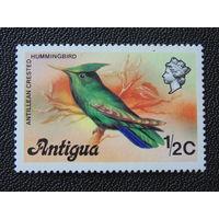 Антигуа 1976 г. Птица.