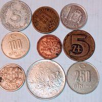 Монеты разных стран мира с рубля. Лот 11.