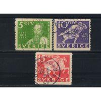 Швеция 1936 300 лет шведской почты #227-9