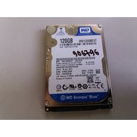 "Жесткий диск для ноутбуков 2.5"" SATA 120Gb WD WD1200BEVT (906796)"