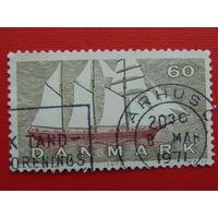 Дания 1970г. Флот.