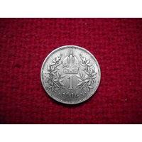 Австро-Венгрия 1 крона 1916 г.