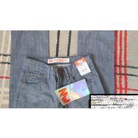 Новые джинсы на мальчика р. 164
