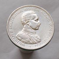 Германия 5 марка 1914 А Вильгельм II патриотический выпуск СЕРЕБРО