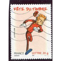 Франция. День почтовой марки. Комикс