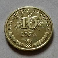 10 липа, Хорватия 2001 г., UNC
