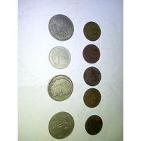 Монеты СССР  ( рубли и 5 коп.)