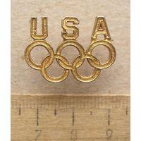 Значок Олимпиада Команда США