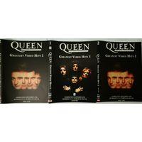 QUEEN - Graetest Video Hits, DVD10+2DVD9