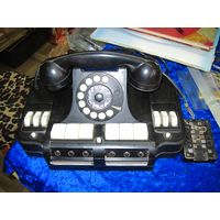 Телефон-коммуникатор селекторный карболитовый КС-6.
