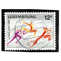 Люксембург.Ми-1203.Лига студенческих спортивных ассоциаций.50 лет L.A.S.E.L.1988.