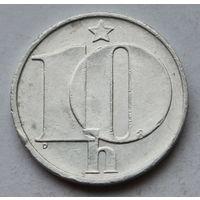 Чехословакия 10 геллеров, 1989 г.