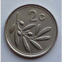 Мальта 2 цента. 1993