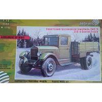 Советский грузовой автомобиль ЗиС-5 1:72 Зебрано