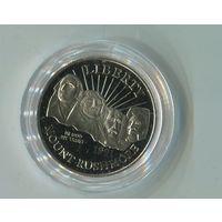 1/2 доллара 1991г.