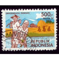 1 марка 1986 год Индонезия 1195