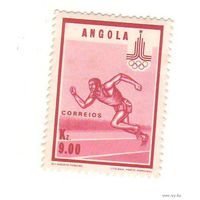 Ангола. Олимпиада Москва-1980. 1 марка.