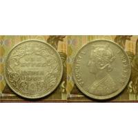 Британская Индия 1 рупия 1901 г