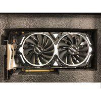 Видеокарта MSI GeForce GTX 1070 Armor 8GB с гарантией!